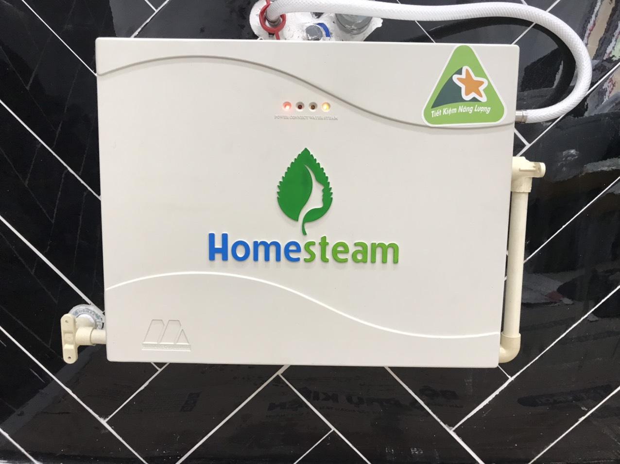 công trình lắp máy Homesteam