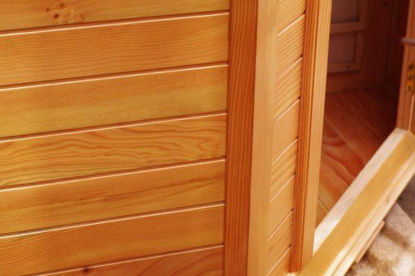 chất liệu gỗ hồng ngoại