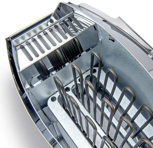 khoang chứa đá máy xông hơi harvia